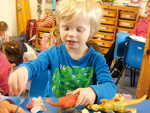 Pre-school play room